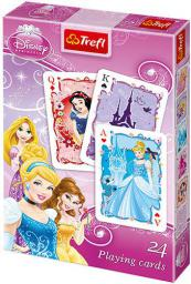Trefl TREFL Karty 24 Listki Princess - 08620
