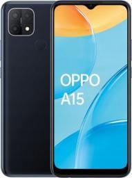 Smartfon Oppo A15 32 GB Dual SIM Czarny  (CPH2185DB)
