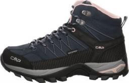 Campagnolo (CMP) Buty damskie Rigel Mid Wmn Trekking Shoe Wp Asphalt-Antracite-Rose r. 37