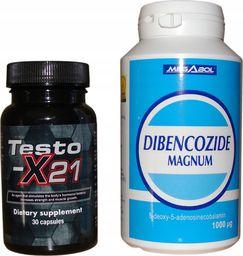 Testox X 21 + Dibencozide dla zawodników mocny zestaw