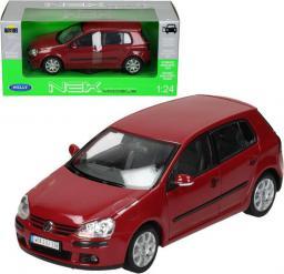 Welly WELLY Volkswagen Golf V, czerwony - WE22458