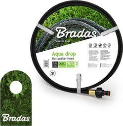 """Bradas Wąż nawadniający pocący AQUA-DROP FLAT 1/2"""" - 7,5m WADF1/2075 Bradas 2043"""