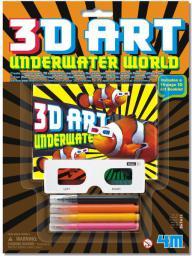 4M Stwórz Trójwymiarowy Świat Podwodny (3638)