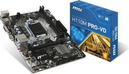 Płyta główna MSI H110M PRO-VD
