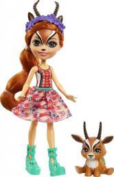 Mattel Enchantimals Lalka ze zwierzątkiem Gazela (GTM26)