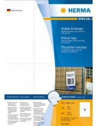Herma Etykieta, biały, 70 x 148,5 mm, mikro-perforowane, 600 sztuk (8047)