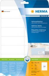 Herma Etykiety adresowe A4 99.1 x 38.1 mm / 140 sztuk (8635)