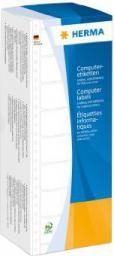 Herma Etykiety do kodów kreskowych, białe 101.6 x 35,7 mm 4000 Szt.
