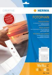 Herma Koszulki na dokumenty 100 x 150 mm / 10 sztuk (7586)