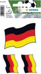 Herma Niemiecka flaga, 84x120 mm, 3 sztuki (15029)