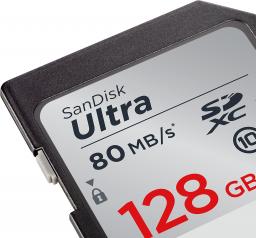 Karta pamięci SanDisk Ultra SDXC 128GB  (SDSDUNC-128G-GN6IN)