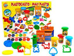 Brimarex Plastociasto Zestaw 53 części 1543783