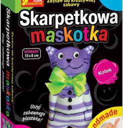 Ranok RANOK  Skarpetkowa maskotka, kotek - 15100081