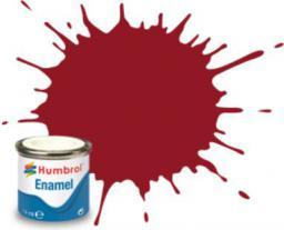 Humbrol Farba Nr20 Crimson Gloss 14ml - AA0223