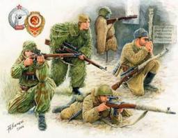Zvezda Soviet Sniper Team WWII (3597)