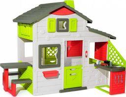 Smoby Domek Neo Friends House z dzwonkiem, ogródkiem i kuchnią (810202)