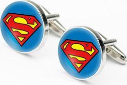 Spinki do mankietów Superman 002 DC Niebieski