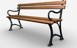 Baster Ławka żeliwna ogrodowa, parkowa na taras id.0120