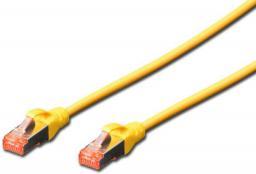 Digitus Kabel krosowy S/FTP kat.6, 0.25m, żółty (DK-1644-0025/Y)