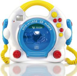 Odtwarzacz CD X4-Tech Bobb Joey Różowy ( 701354 )