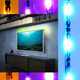 Taśma LED X4-Tech 0.5m 1.5W/m RGB multikolor (701407)