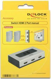 Delock HDMI 2/1- 87663