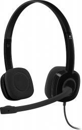 Słuchawki z mikrofonem Logitech H151 (981-000589)