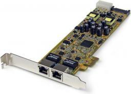 Karta sieciowa StarTech PCIe Dual port Gigabit network adapter (ST2000PEXPSE)