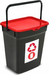 Kosz na śmieci Plast Team do segregacji niebieski żółty zielony czerwony (202)