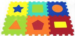 Artyk Puzzle piankowe Kształty 6 el. (1043B-6)