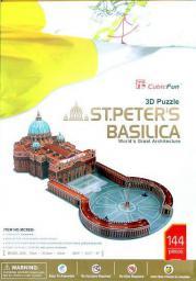 Cubicfun PUZZLE 3D BASILLICA ST.PETERS DUŻY - C092H