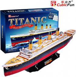 Cubicfun PUZZLE 3D Titanic Duży - T4011H