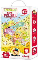 Czuczu Puzzle Mapa Polski - (4862610)