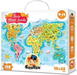 Czuczu Puzzle Mapa Świata  (5603029)