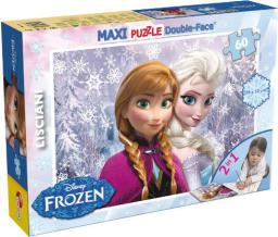 Lisciani LISCIANIGIOCHI Puzzle Frozen maxi 60 el. - 46881