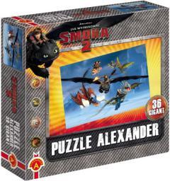 Alexander ALEXANDER Puzzle 36 Gigant Smoki 2 Zimno - 1000