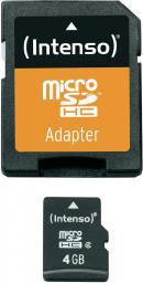 Karta Intenso MicroSDHC 4GB (3403450)