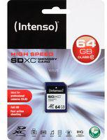 Karta Intenso SDXC 64GB  (3411490)