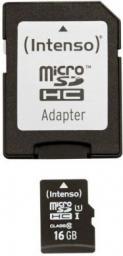 Karta Intenso MicroSDHC 16GB (3423470)
