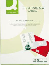 Q-Connect Etykiety uniwersalne Q-CONNECT, 70x50,8mm, prostokątne, białe 100 ark.