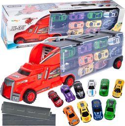 MalPlay Ciężarówka z Metalowymi Autkami