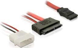 Delock SATA Micro 16pin / SATA 7pin +2pin Molex (84384)