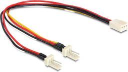 Delock Rozdzielacz 3pin - 2x 3 pin (893430