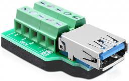 Delock Adapter Terminal Block 10Pin / USB 3.0 (65370)