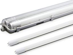 Świetlówka kompaktowa Kobi Kobi Oprawa hermetyczna + 2 x świetlówka LED 16W 120cm barwa zimna 6500K 3200lm 6847