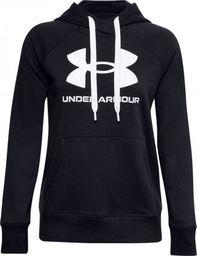 Under Armour Bluza damska Rival Fleece Logo Hoodie Czarna r. S