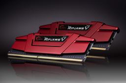 Pamięć G.Skill Ripjaws V, DDR4, 32 GB, 3000MHz, CL15 (F4-3000C15D-32GVR)