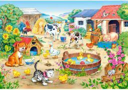 Castorland Puzzle Farma 60 elementów (06663)