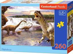 Castorland Puzzle Diplodocus 260 elementów (26999)