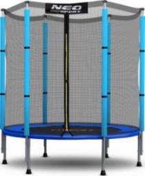 Neo-Sport Trampolina ogrodowa z siatką wewnętrzną 4.5FT 140cm